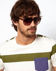 A J Morgan Aviator Sunglasses