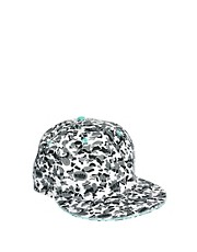 ASOS Snap Back Cap in Cartoon Print