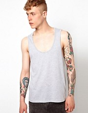 ASOS Vest With Deep Scoop Neck