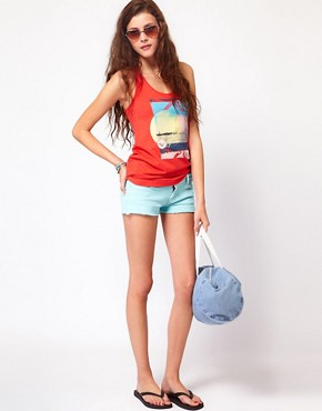 Image 1 ofRoxy Denim Shorts