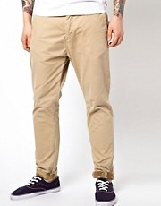 Scotch &amp; Soda Chino With Camo Hem