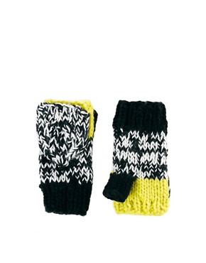 Image 1 ofASOS Neon Mix Knit Converter