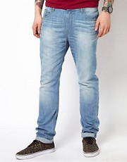 WESC Jeans Eddy Slim Fit Light Wash