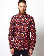 Libertine Libertine Shirt with Ikat Print