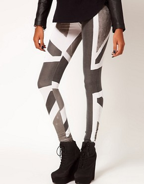 Image 4 of Religion Union Jack Leggings