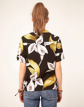 Image 2 ofParadise Found Calla Lily Hawaiian Shirt