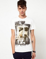 Clubbed to Death We Love Cream T-Shirt