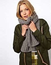 ASOS Rib Knit Scarf