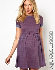 ASOS Maternity Smock Dress In Neppi
