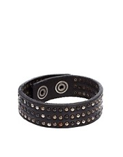 Diesel Ascalios Leather Bracelet