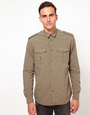 Image 1 ofIro Military Style Shirt