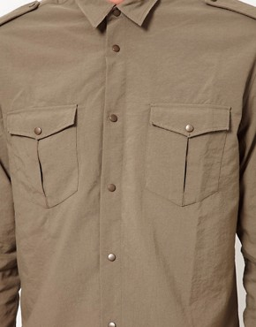 Image 3 ofIro Military Style Shirt