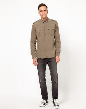 Image 4 ofIro Military Style Shirt