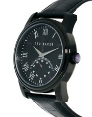Ted Baker Leather Strap Watch TE1083
