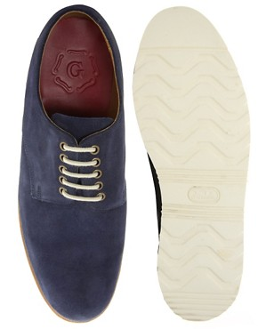 Image 3 ofGrenson Exclusive to ASOS Finbar Suede Derby Shoes