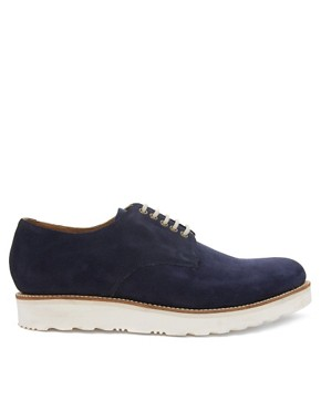 Image 4 ofGrenson Exclusive to ASOS Finbar Suede Derby Shoes