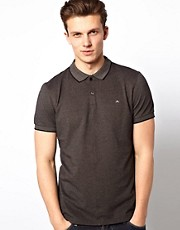 J Lindeberg Slim Polo With Centre Seam