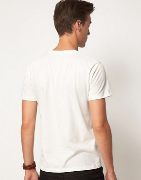 Image 2 ofJack &amp; Jones Intelligence Palm T-Shirt