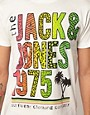Image 3 ofJack &amp; Jones Intelligence Palm T-Shirt