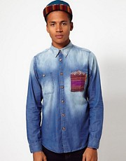 Criminal Damage Denim Shirt