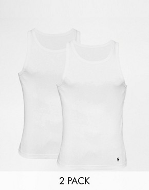Image 1 ofPolo Ralph Lauren 2-Pack Vest