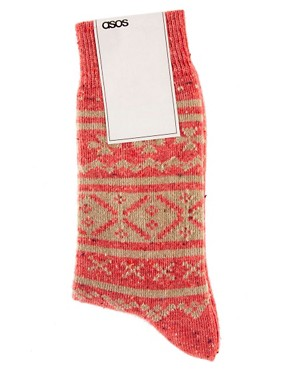 Image 3 ofASOS Fairisle Socks