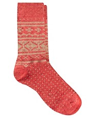 ASOS  Socken mit Fairisle-Muster