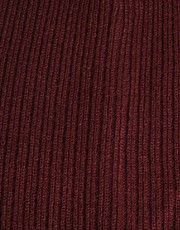 ASOS Oversized Beanie In Burgundy