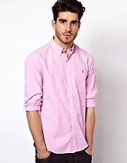 Polo Ralph Lauren Slim Shirt in Gingham Check