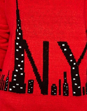 Image 3 ofRiver Island NYC Jumper