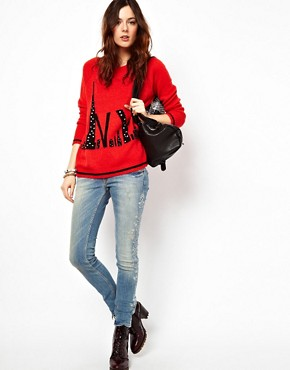 Image 4 ofRiver Island NYC Jumper