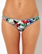Warehouse Mix Print Bikini Bottom