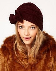 ASOS Bow Front Turban Hat