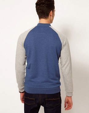 Image 2 ofASOS Bomber With Contrast Sleeves
