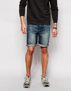 United Colors of Benetton Washed Denim Shorts