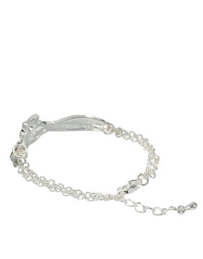 Image 2 ofASOS Stone Scissors Bracelet