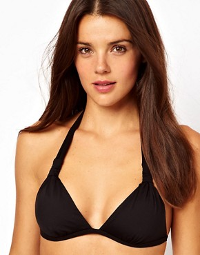 Image 1 ofSunseeker Mix and Match Solids Halter Top with Removable Cups