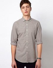 Plectrum By Ben Sherman Shirt Cutaway Collar