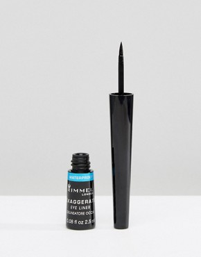 Image 1 ofRimmel London Exaggerate Waterproof Eye Liner