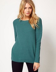 ASOS Jumper With Ribbed Shoulder