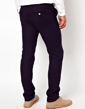 Image 2 ofSuit Wool Mix Trousers in Slim