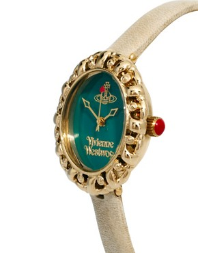 Image 4 ofVivienne Westwood Mini Leather Strap Watch