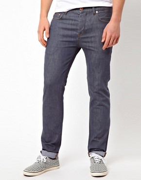 Image 1 ofASOS Slim Jeans In Grey