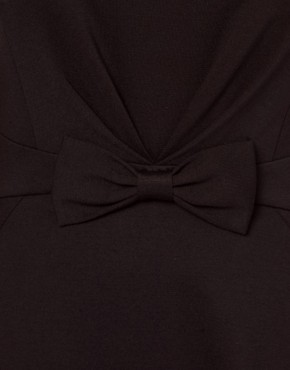 Image 3 ofTed Baker Bow Detail 60s Mini Dress