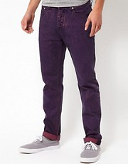 ASOS Slim Fit Jeans In Acid Wash