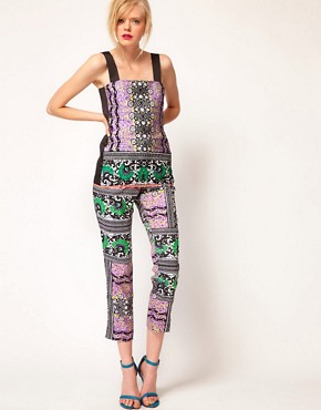Image 4 ofASOS AFRICA Top With Mombasa Print