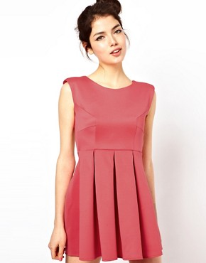 Image 2 of Oh My Love Skater Dress with Open Back