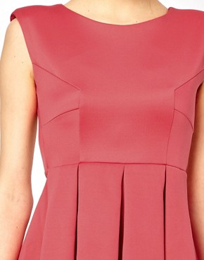 Image 3 of Oh My Love Skater Dress with Open Back