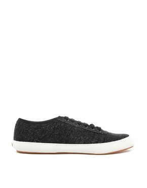 Image 4 ofFred Perry Woodford Jersey Plimsolls