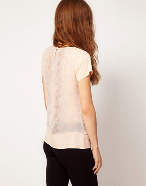 Image 2 ofA Wear Printed Panel Shell Top